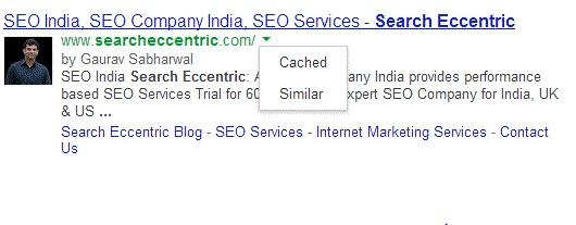 Cached or similar results