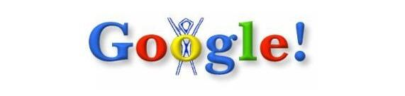First Google Doodle- Search Eccentric
