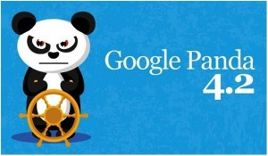 Blue background Panda 4.2