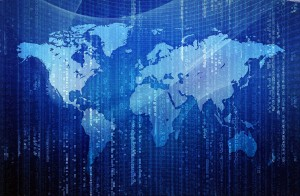 global digital binary view