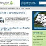 Consultant Journal