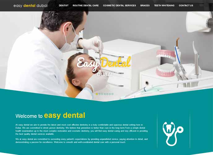 A Dental Clinic's journey through the Search Engine climb