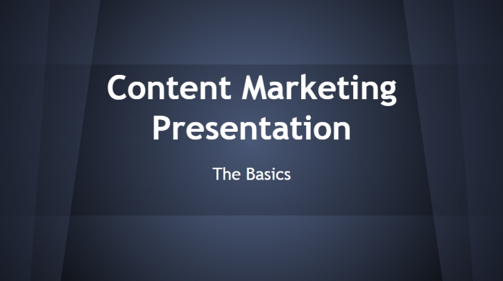 Content Marketing Presentation