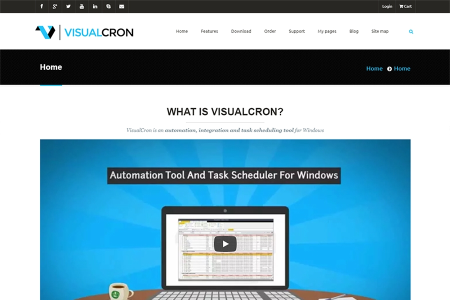 Visual Cron